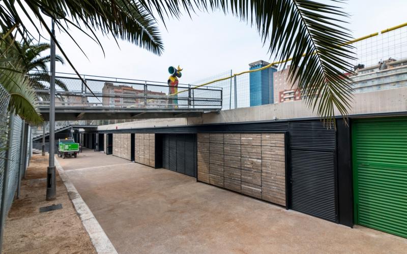 CONSTRUCCIÓN DEL CENTRO DE LIMPIEZA JOAN MIRÓ DE BARCELONA