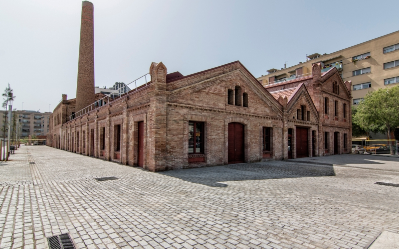 REHABILITATION OF THE ANCIENT FACTORY OF CA L'ALIER IN BARCELONA