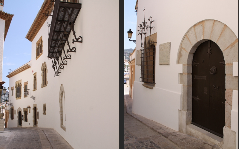 REHABILITATION OF PATRIMONIAL GROUP OF CAU FERRAT-ROCAMORA-MARICEL (SITGES)