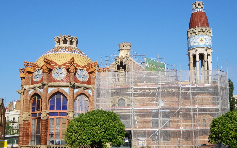 REHABILITATION OF THE PAVILION OF LA MERCÈ IN THE HISTORIC COMPLEX OF SANT PAU IN BARCELONA