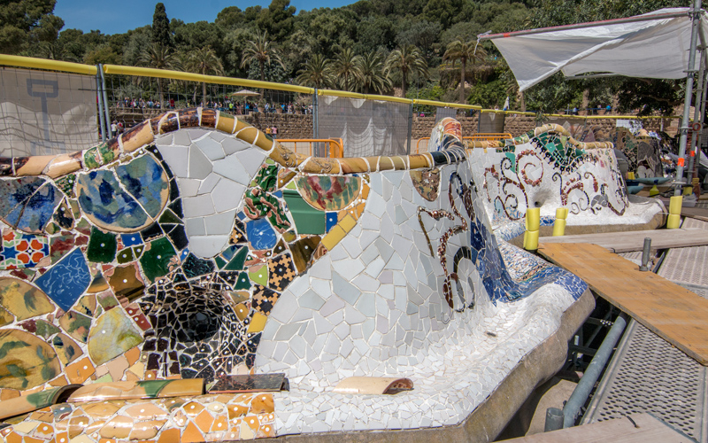RESTORATION AND IMPROVEMENT OF VARIOUS ZONES OF PARK GÜELL IN BARCELONA